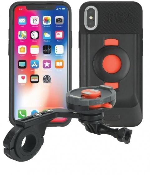 Korting Tigra Sport Fietshouder Met Hoes Fitclic Neo Forward Iphone X xs
