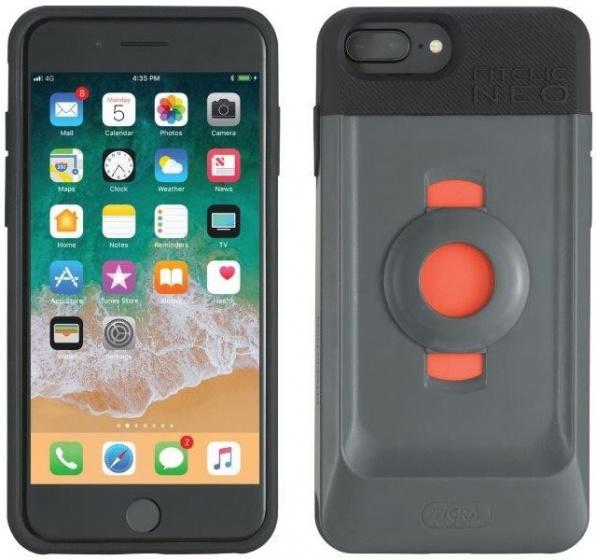 Tigra Sport fietshouder met hoes FitClic Neo iPhone 6/6S/7/8 (Plus)