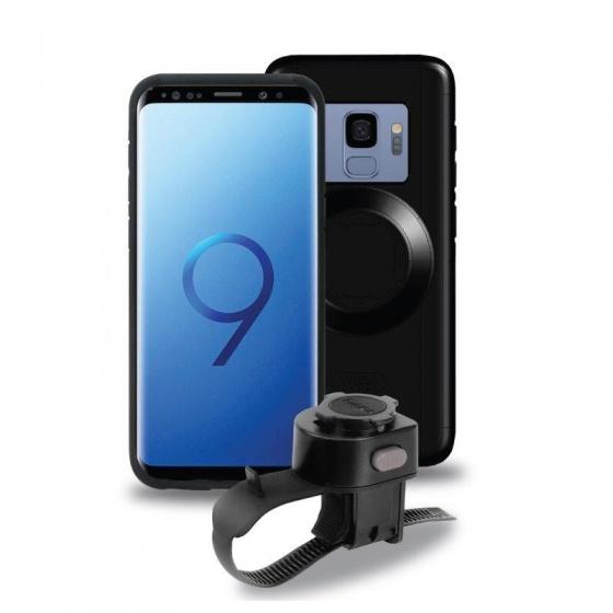 Tigra Sport fietshouder met hoes FitClic Samsung Galaxy S9