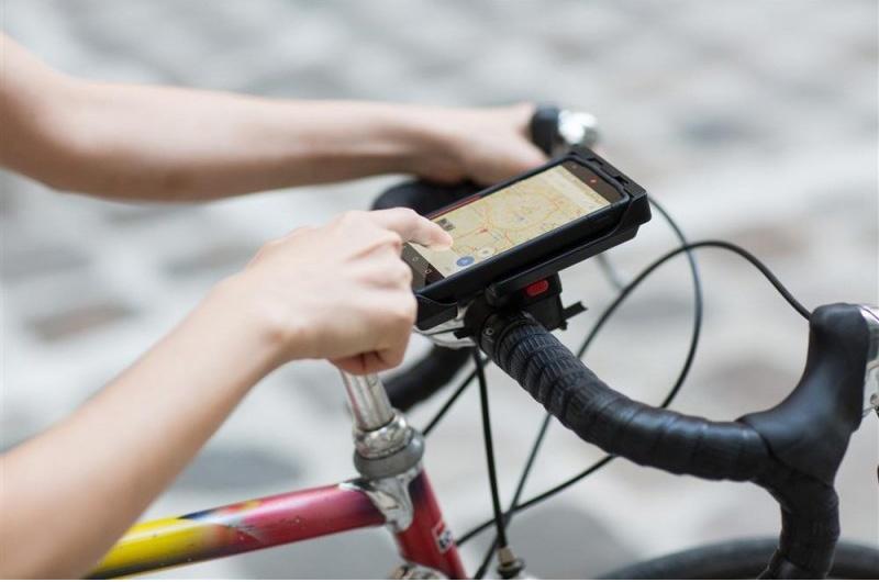 Tigra Sport fietshouder met hoes FitClic Universal 5 Kit