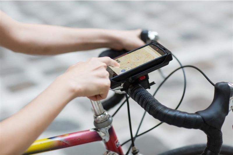 Tigra Sport fietshouder met hoes FitClic Universal 6 Kit