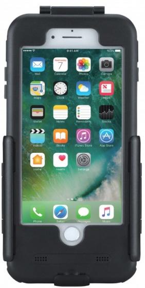 Tigra Sport telefoonhouder FitClic Apple iPhone 7/8 plus zwart