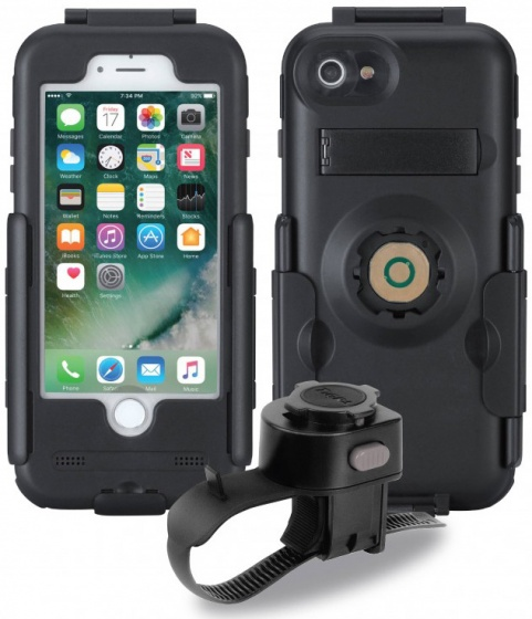 Korting Tigra Sport Telefoonhouder Fitclic Apple Iphone 7 8 Zwart