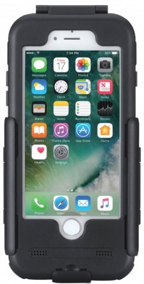 Tigra Sport telefoonhouder FitClic Apple iPhone 7/8 zwart