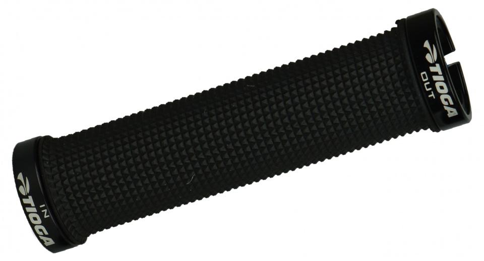 Tioga handvatten Lock On Slim 135 mm zwart per paar
