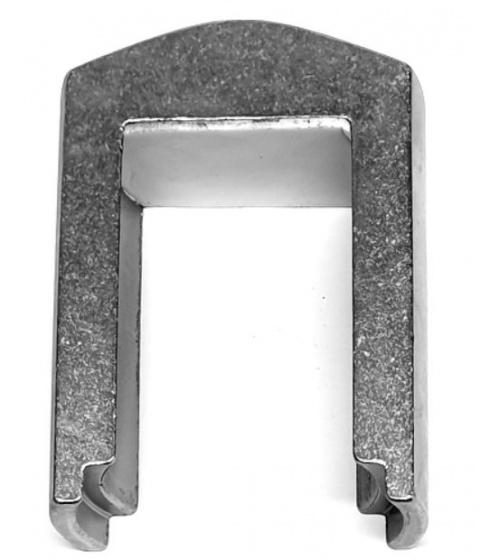 Tioga voorvork verwijderaar 8 x 5,5 x 2,5 cm staal zilver