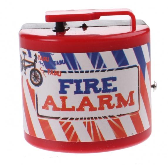 Toi Toys Brandweer fietsalarm rood 5 x 5 x 6 cm