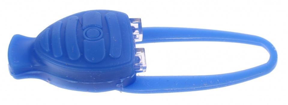Toi Toys politie fietslampje 10 cm blauw