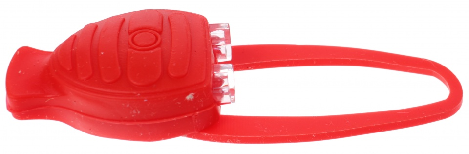 Toi Toys politie fietslampje 10 cm rood