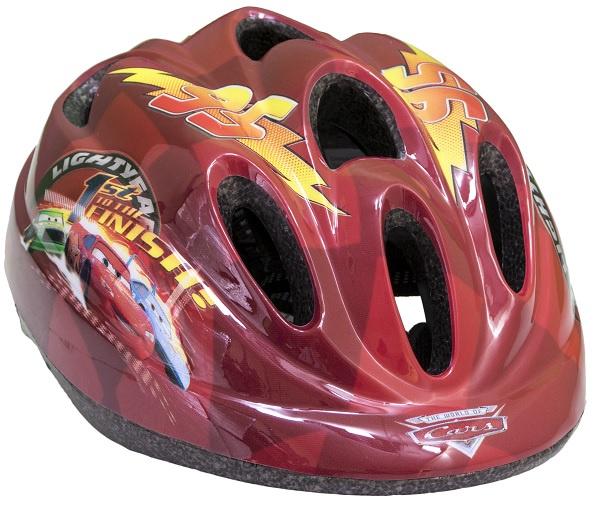 Toimsa fietshelm Cars junior 52 56 cm rood/geel