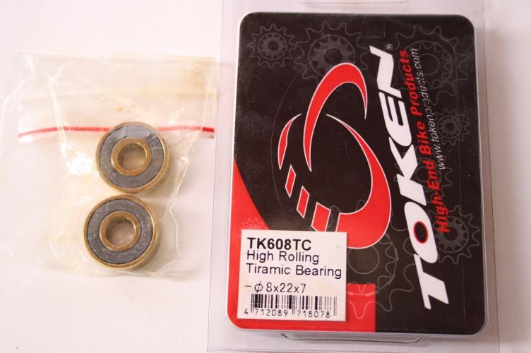 Token Bearing Tk608tc 8X22X7