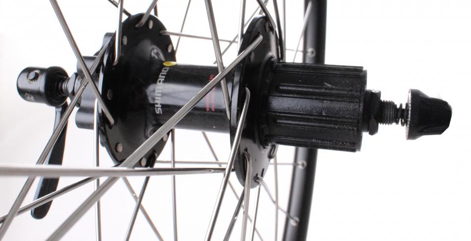 TOM achterwiel ZAC19 27 inch freewheel FH M529 32G zwart