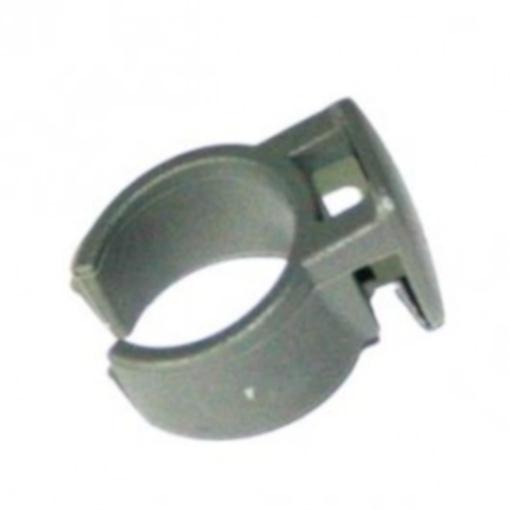 TOM bevestigingsclip jasbeschermer 20 mm grijs per stuk