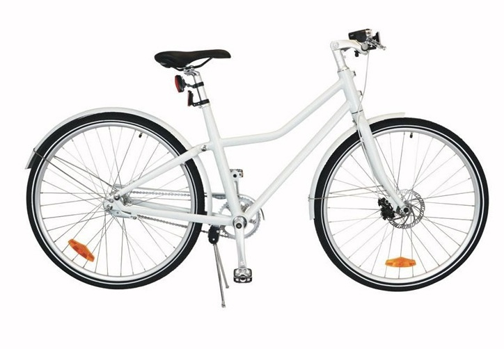 TOM City Bike Deluxe 28 Inch 48 cm Unisex 2V Schijfrem Wit