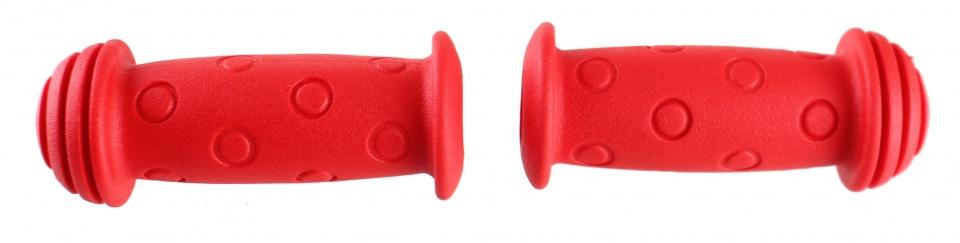 TOM handvatten kinderfiets 100 mm rondjes rood 2 stuks