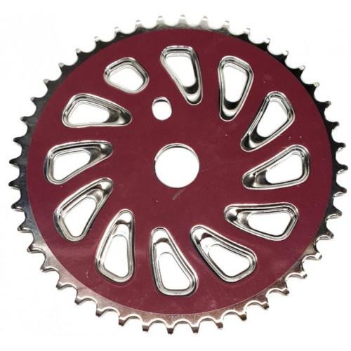 TOM kettingblad BMX staal 44T paars
