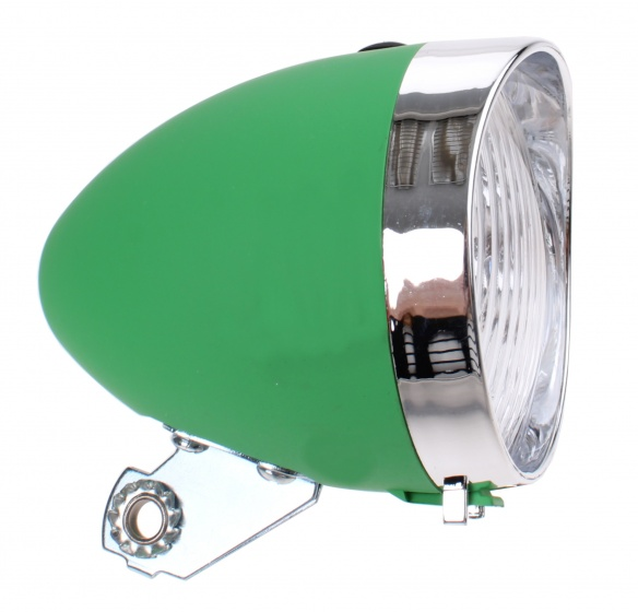 TOM koplamp classic led groen