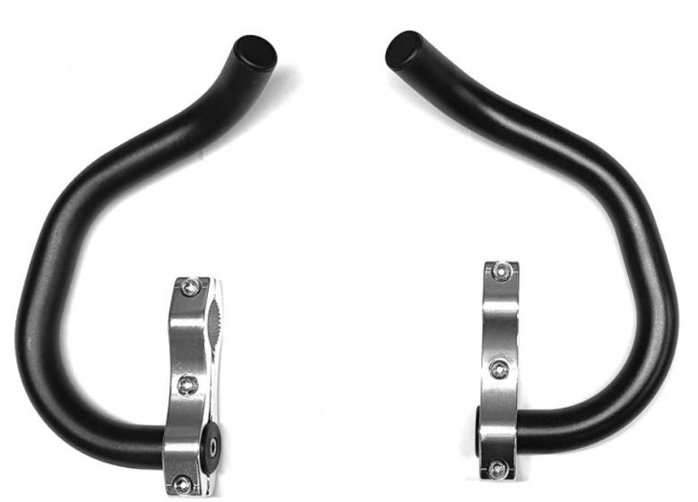TranzX set oppzet/ triathlonstuur 22.2 mm zwart