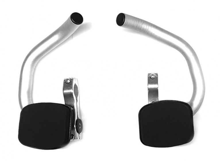 TranzX set opzet/triatlonstuur 22.2 mm zilver