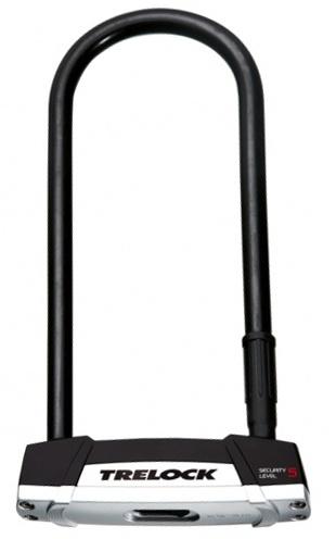 Trelock U Slot BS 550 230 x 16 mm Art 3 zwart/zilver