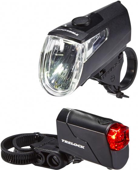 Trelock verlichtingsset LS360 I Go Eco zwart