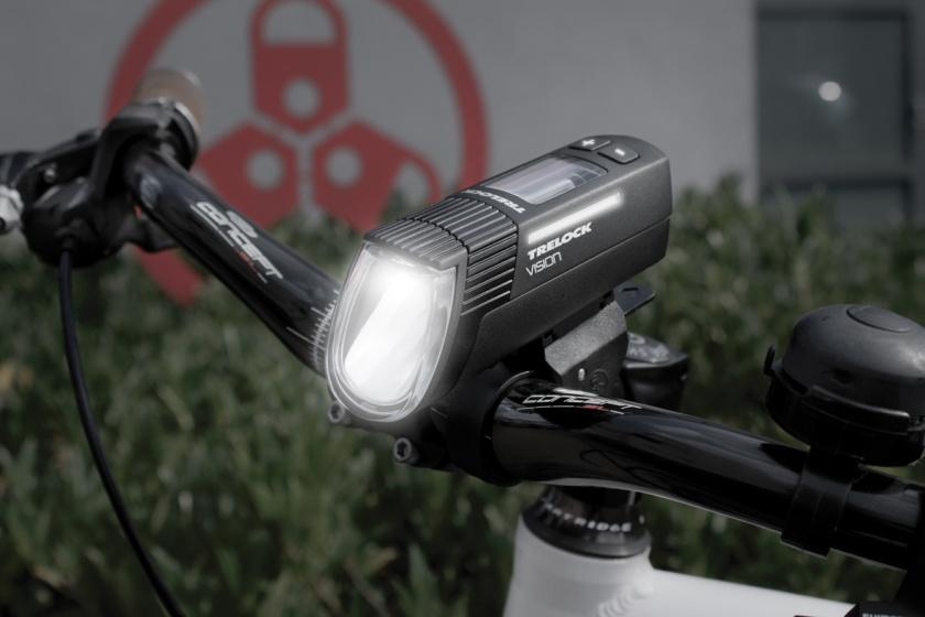 Trelock verlichtingsset LS 760 I Go Vision 100 Lux zwart