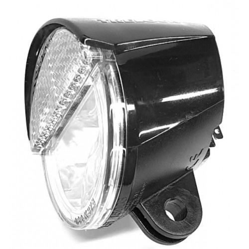 Trelock voorlamp LS100 E Bike 6 volt met CR8/NEX houder zwart