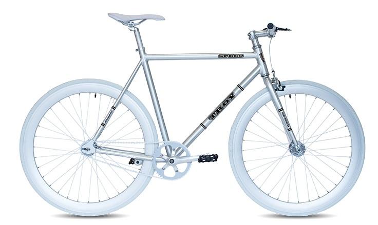Troy - Speed 28 Inch 53 Cm Heren V-brake Chroom