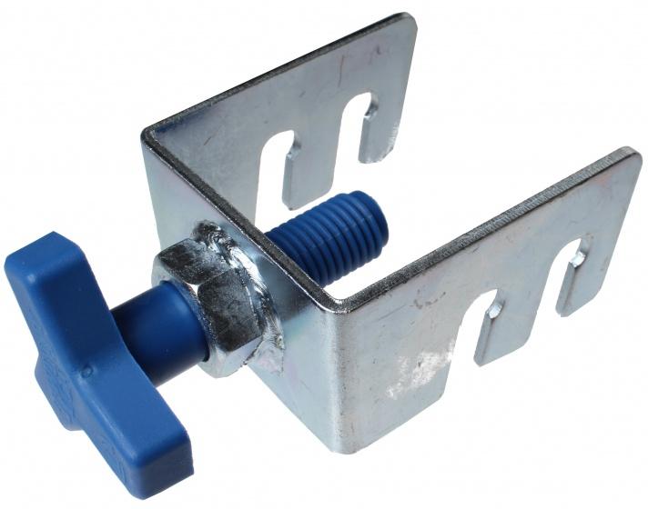 Twinny Load crankklem met sterbout zilver/blauw