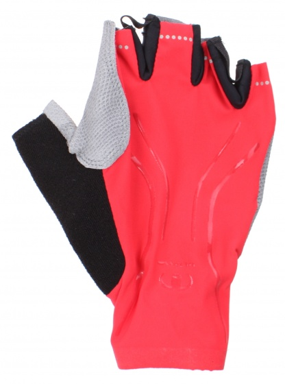 Ultima fietshandschoenen Energy rood/grijs mt L per paar