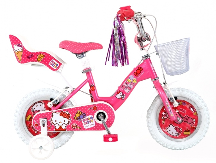 Umit - Hello Kitty 12 Inch Meisjes Terugtraprem Roze