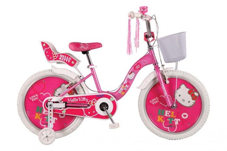 Umit - Hello Kitty 20 Inch 31 Cm Meisjes Terugtraprem Roze