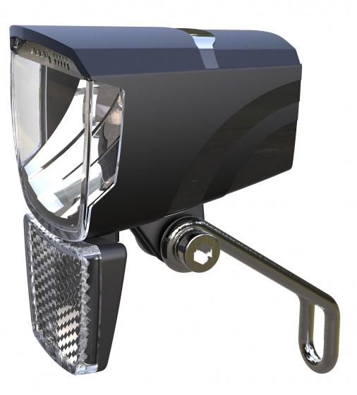 Union koplamp Spark E Bike 50 lux led zwart