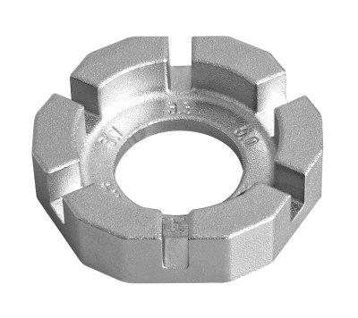 Unior Nippelspanner 3,3 5 mm zilver Onderdelen & Accessoires Zilver Spaak Gereedschappen Voor 16:00 uur besteld, dezelfde dag verzonden