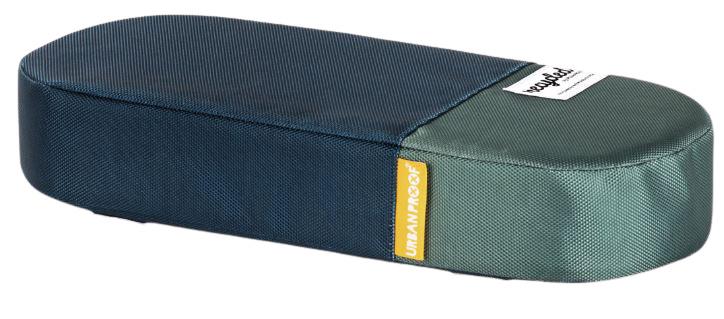 Korting Urban Proof Bagagedragerkussen 37 Cm Polyetheen Blauw groen
