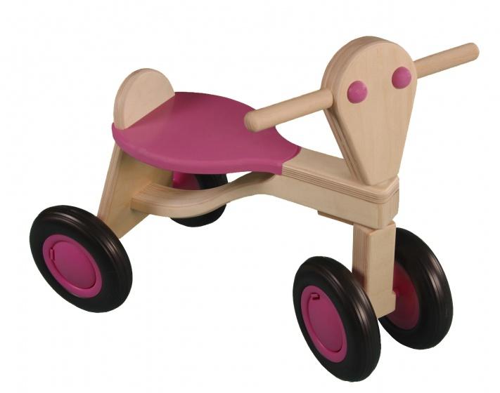 Van Dijk Toys loopfiets Berken Junior Roze