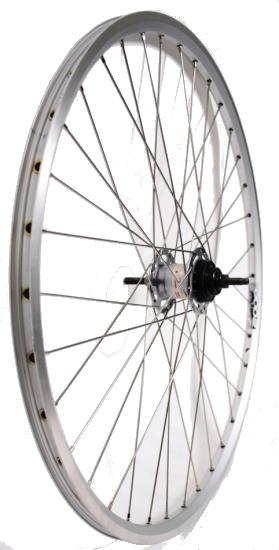 Van Schothorst Achterwiel 26 inch nexus 8 rollerbrake alum. 36t zilver