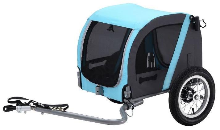 Vantly - Hondenfietskar 20 Inch Licht Blauw/antraciet