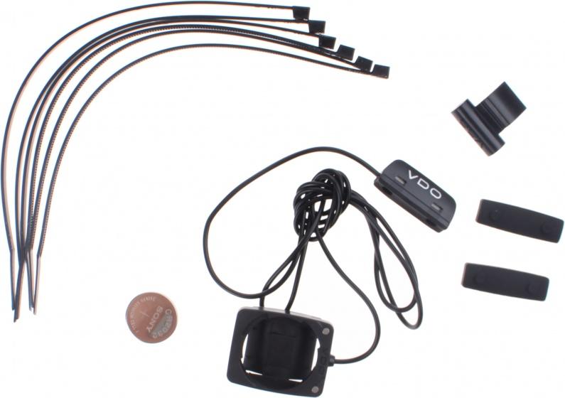 VDO Fietscomputer M3.1 WR D3 digitaal bedraad zwart