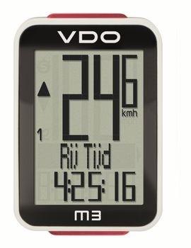 VDO M3 WR Fietscomputer Bedraad