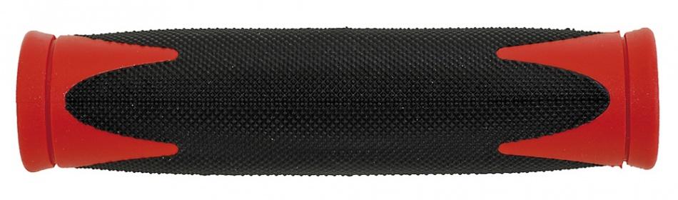 Velo Handvat D2 130 mm Zwart Rood Per Paar