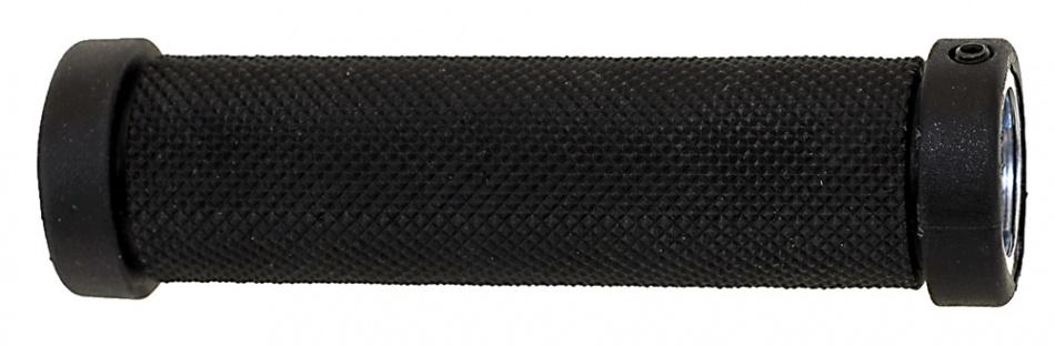 Velo Handvat D2 Schroef Gel 130 mm Zwart Per Paar