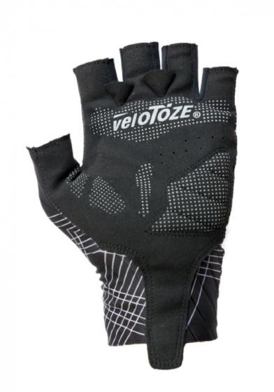 veloToze fietshandschoenen Aero Glove polyester zwart maat S