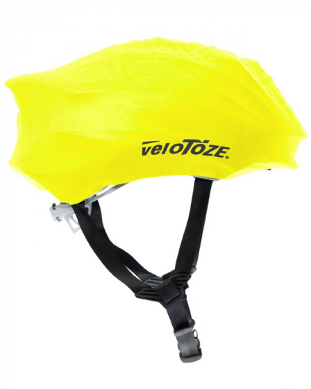 veloToze helmhoes rubber geel one size