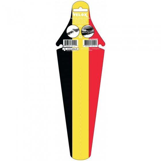 Velox Ass Saver spatbord achter België zwart/geel/rood