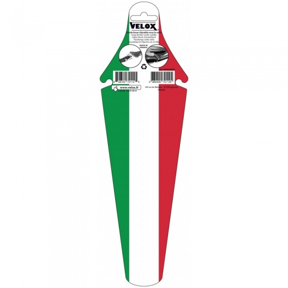 Velox Ass Saver spatbord achter Italië groen/wit/rood