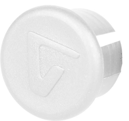 Velox stuurdop 20 mm wit