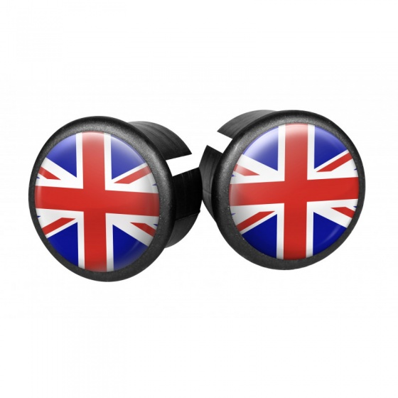 Velox stuurdoppen UK 20 mm rood/blauw