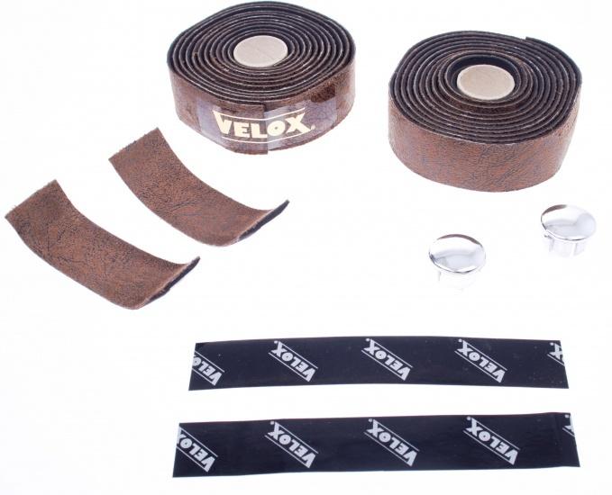 Velox Stuurlint Vintage 3.0 leatherlook 200 cm bruin