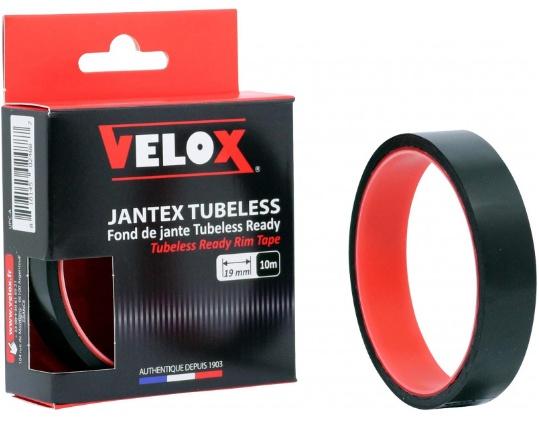 Velox velgtape Route Tubeless Ready 19 mm / 10 meter zwart